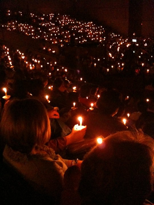 European candlelight services.
