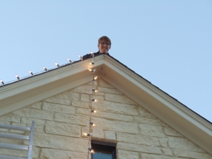 There is an Elf on my Roof