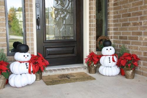 Christmas Entry...Repurposed Pumpkins