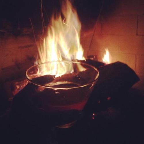 November fireplace pic